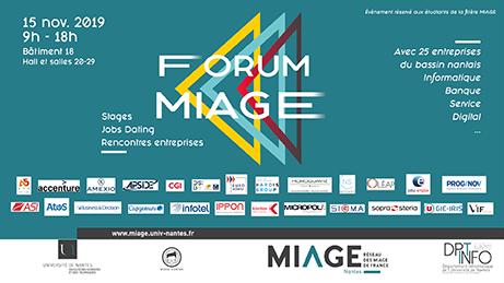 Forum Miage 20189