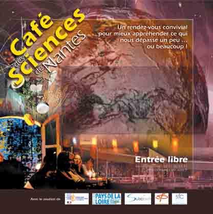 Affiche du Cafe-des-Sciences de Nantes