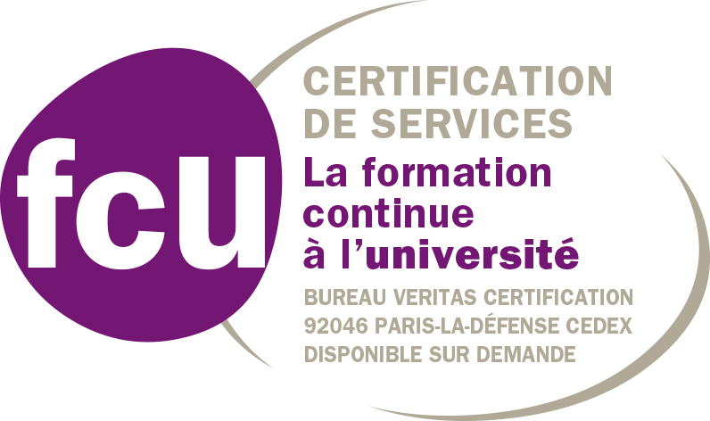 FCU - Certification de services - La formation continue à l'université