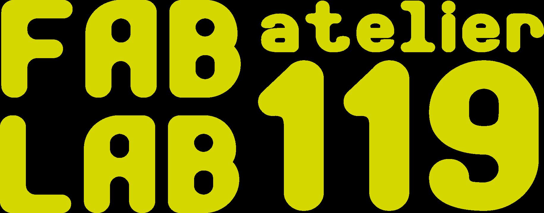 logo fablab Atelier 119