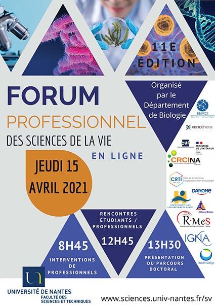 Forum Sciences de la Vie